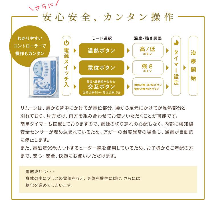 家庭用電位・温熱治療器リムーン